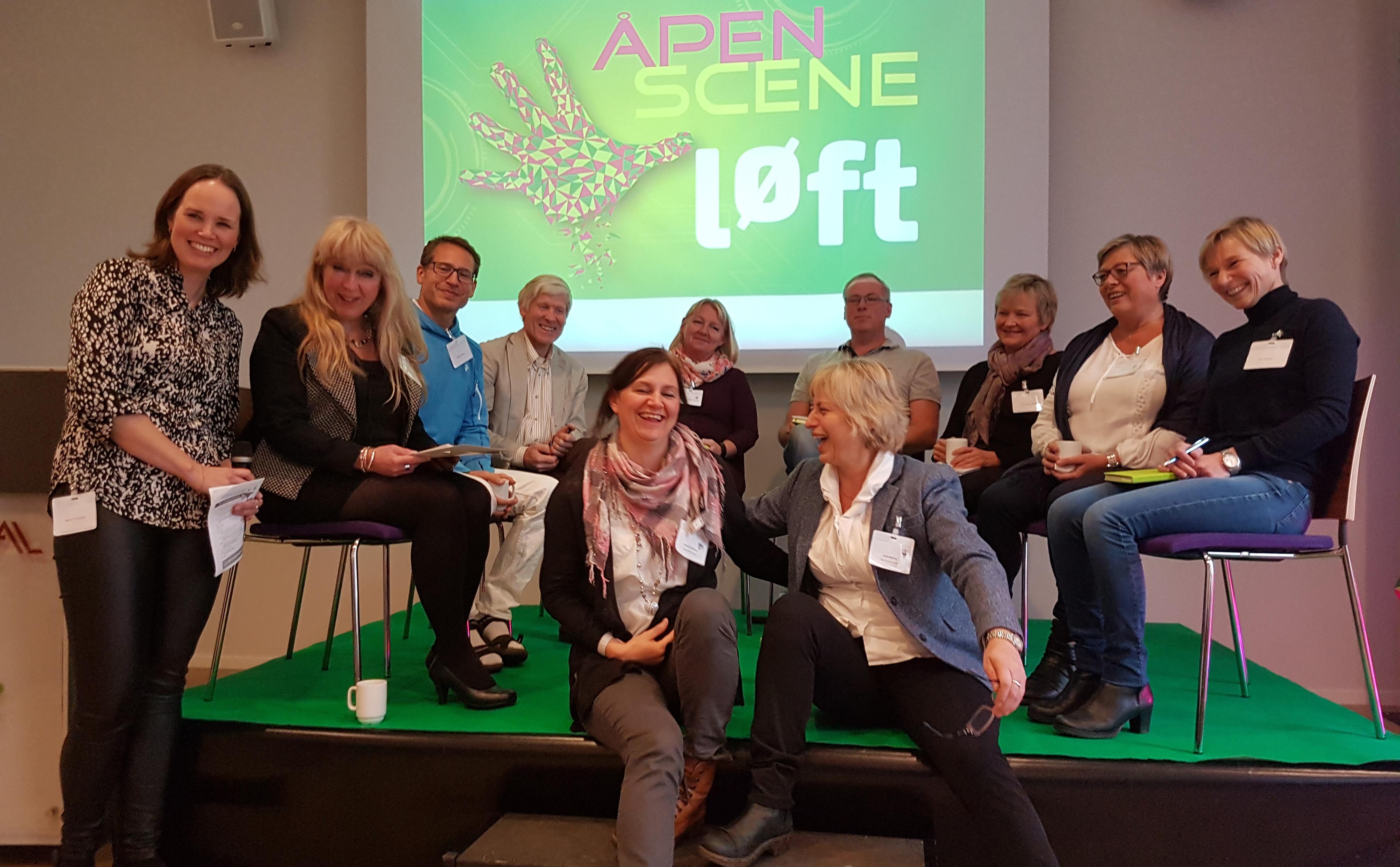 Deltakere på erfaringsseminar om helseinnovasjon