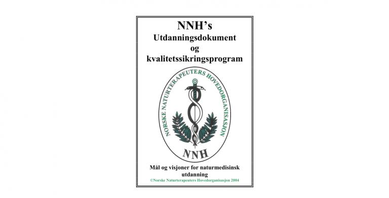 Forside av NNHs utdanningsdokument