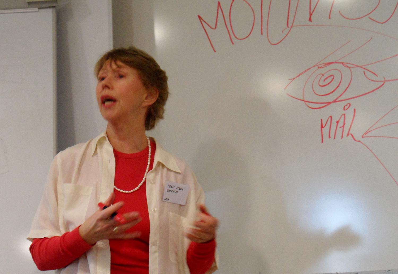 Helseterapeut og filosof Berit Strøm Grevstad