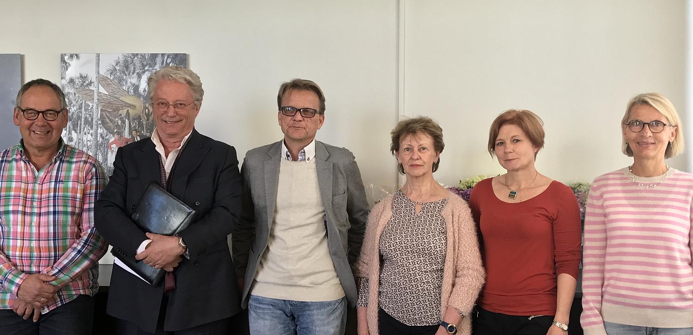 Stig Bruset, Christian Borch, Ulf R. Dahle, Solveig Mohr, Øyunn Holen og Karen Seyersted. Foto: Enrique Daling Photography