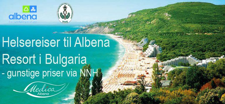 Helsereiser til Albena Resort