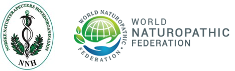 NNHs logo sammen med World Naturopathic federations logo